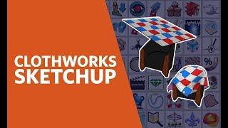 SketchUp ClothWorks Plugin Quick Tip : Кукутики - мультики