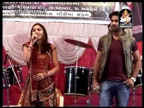Umesh Barot - Abhita Patel Live Dandiya Garani Dham - 1
