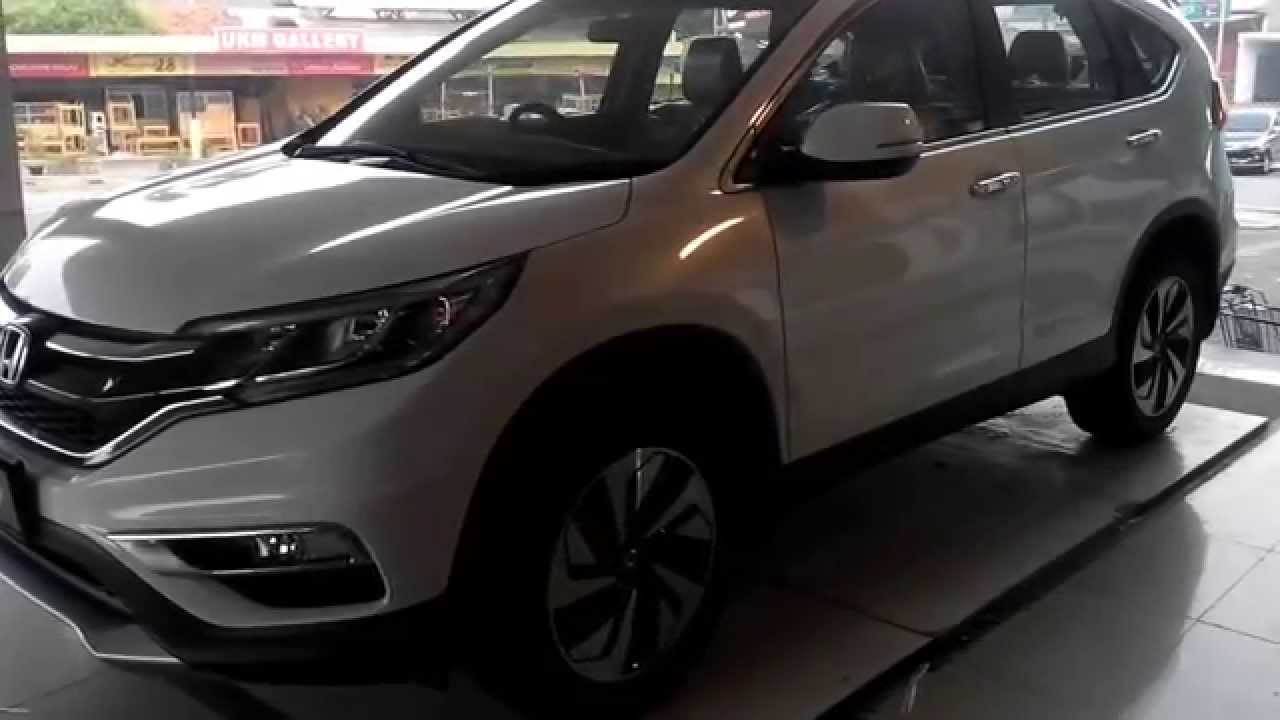 All New Honda Crv 2015 Warna Putih Youtube