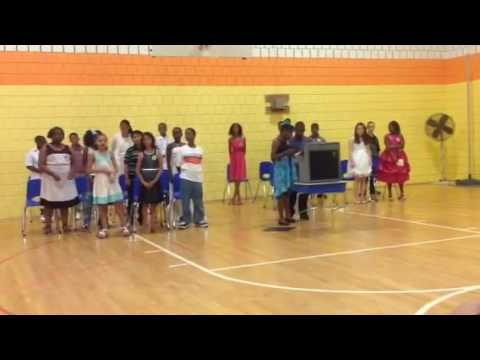 Glory by the 5 Th grade of Charles Carroll barrister elementary school in Baltimore md