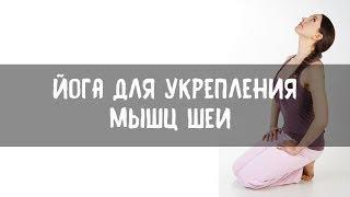 Упражнения для укрепления мышц шеи (расслабление и укрепление мышц шеи)(Скачать видео-курс «ЙОГА-ТЕРАПИЯ ДЛЯ НАЧИНАЮЩИХ» можно тут: http://yogadudina.ru/l6aGWGJpM5E Несколько простых упражнени..., 2014-12-08T18:29:30.000Z)