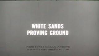 GERMAN V-2 ROCKET TESTS AT WHITE SANDS NEW MEXICO 2535