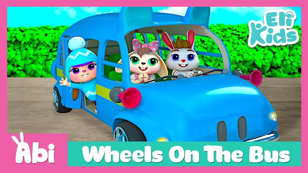 Wheels On The Bus | Eli Kids Song & Nursery Rhymes
