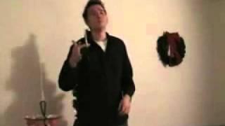 Dave Nivison Sings a Christmas Carol (Backwards)
