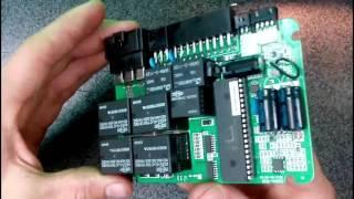 Starline A9 W808 Разбор, замена конденсаторов, проверка реле