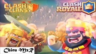Punyaso - Clash Of Clans Remix VS Clash Royale Remix ((Chiru MxR MIX))