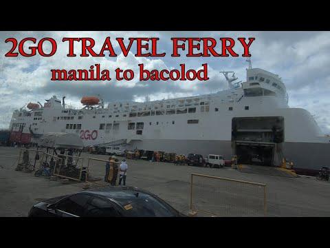 2GO FERRY MANILA TO BACOLOD VIA ILO_ILO