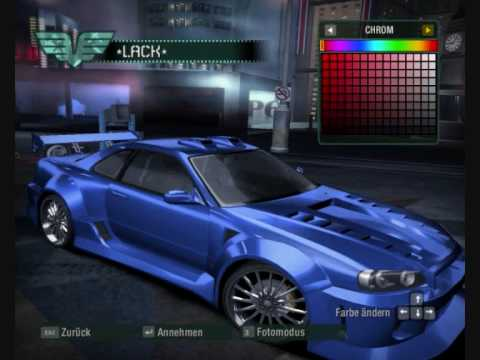 Fast And Furious 4 Cars Wallpapers Nfs Carbon Tuning Nissan Skyline Gtr R34 Youtube