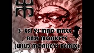 Official - XSI vs Mad Maxx - Bass Monkeys ( Wild Monkeys Remix )