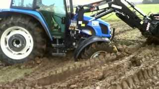 Wiosna / Spring 2013 - Obornik, Orka, Siew. [Full HD]  New Holland T5040