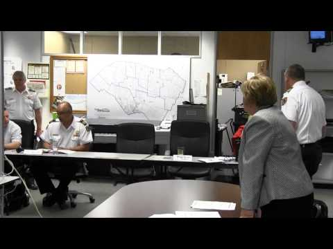 Emergency Management Training Exercise 2014