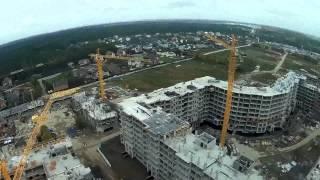 Копия видео Опалиха О3 полёт 13.09.2015 дома 9 7 5 3 и 4 6 издалека