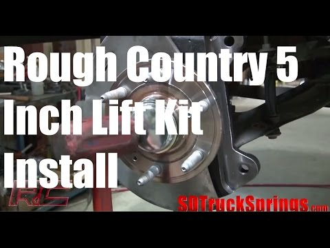 Rough Country 5 Inch Lift Kit For Chevy Silverado