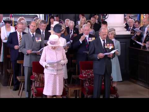 Hymn   I vow to thee my country VJ Day, 2015