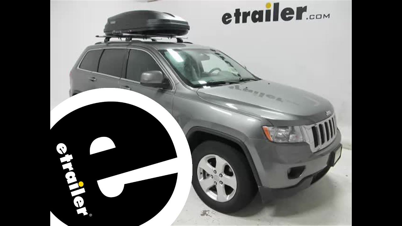 Review Of The Thule Pulse Cargo Box Etrailer Com Youtube