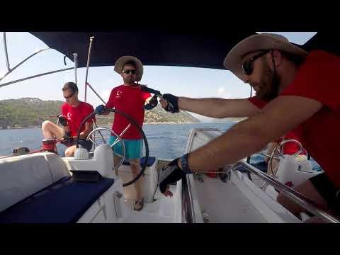 Mapper sailing in Turkey August 2017