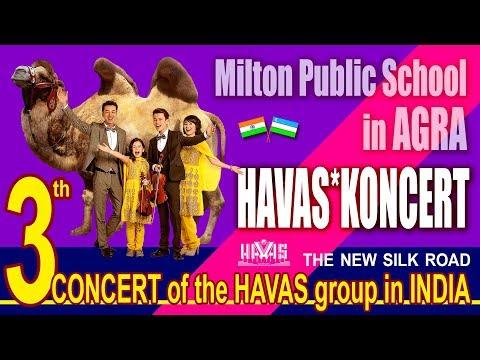 HAVAS guruhi - 3th CONCERT - Milton Public School - AGRA. INDIA - 24.12.2017