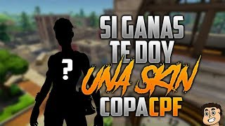 TORNEO CPF PRIVATE PARTIES COPA CPF SKIN 3 - CREATOR CODE : cafplay-yt - FORTNITE LIVE