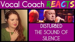 Vocal Coach reacts to Disturbed singing The Sound Of Silence