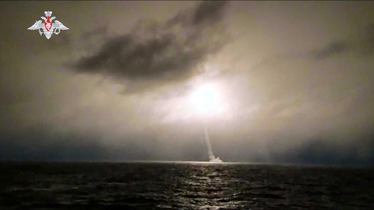 «Князь Олег» произвел пуск баллистической ракеты «Булава»