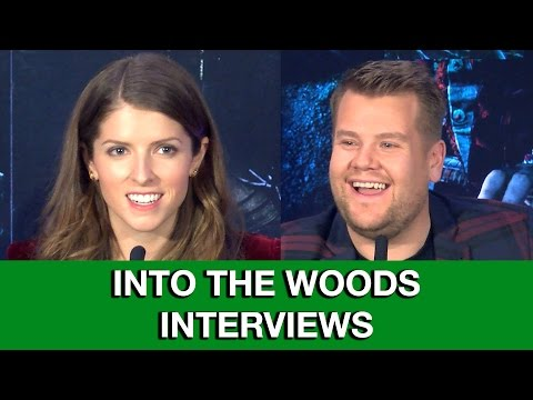 Into The Woods Interviews - Anna Kendrick & James Corden