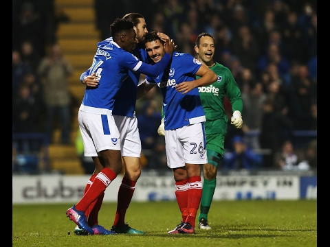 Highlights: Portsmouth 2-0 Blackpool