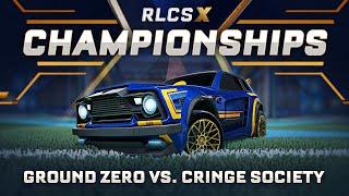 Ground Zero vs. Cringe Society   OCE RLCS X Championship   Grand Finals