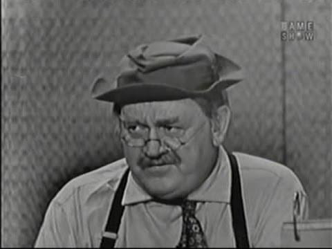 What's My Line? - Cliff Arquette; Martin Gabel [panel] (Jul 26, 1959)