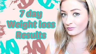 =Health&Fitness= The GM Diet - 1 Week after RESULTS Thumbnail