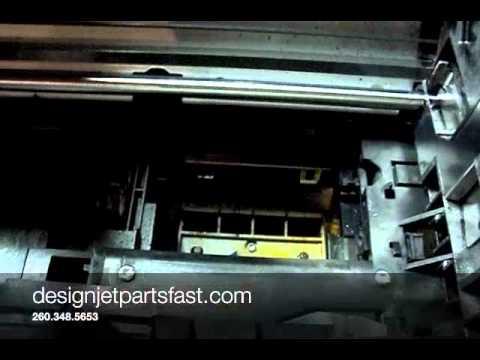 Designjet 500 Ink Supply Station Removal Youtube
