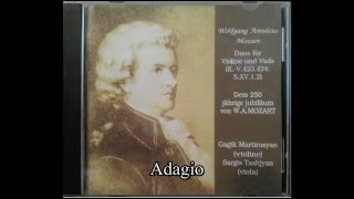 W.A.Mozart-Duo 2 B dur.Gagik Martirosyan(violine),Sargis Tashjyan(viola)