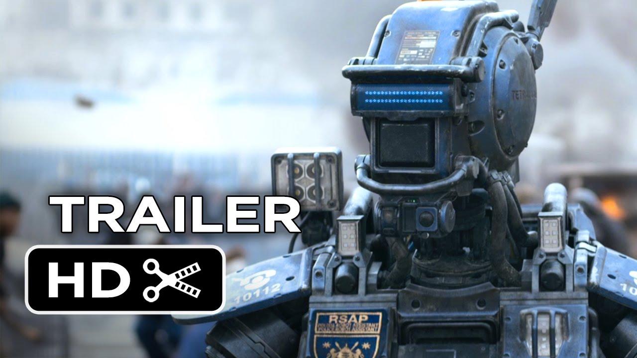 Chappie Official Trailer #1 (2015) - Hugh Jackman, Sigourney Weaver Robot Movie HD - YouTube