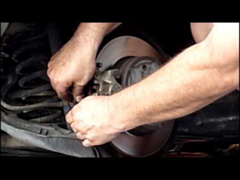 DIY Auto Repair – Changing Rear Brake Pads On A Car – Save Money !