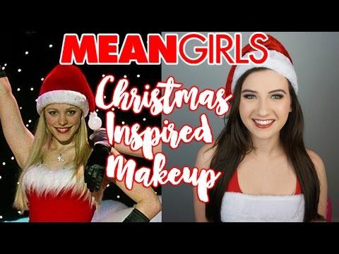 MEAN GIRLS Christmas Inspired Makeup Tutorial - 동영상