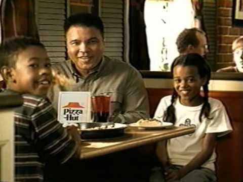 PizzaHut Muhammad Ali Commercial