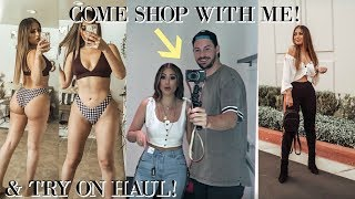 COME SHOPPING WITH ME AT EXPRESS + TRY ON HAUL