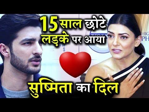OMG! Sushmita Sen Dating 15 Yrs Younger Model Rohman Shawal?