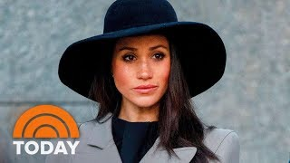 Palace Responds To Reports That Meghan Markle's Father Won't Be Attending The Royal Wedding | TODAY thumbnail