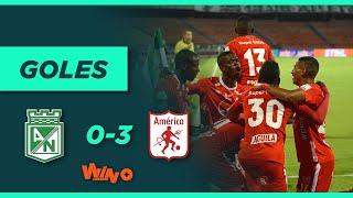 Nacional vs. América (0-3)   Liga BetPlay Dimayor - Cuartos de final Vuelta