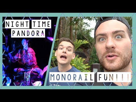 Pandora at Night and Monorail Resort Hopping | Walt Disney World Vlog June 2017