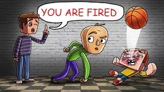 Minecraft - BALDI IS FIRED BY THE PRINCIPAL! (Baldi's Basics School)