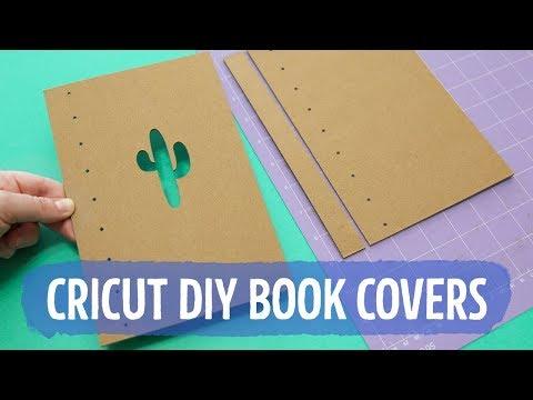 DIY Chipboard Book Covers with Cricut Maker 📚 Sea Lemon