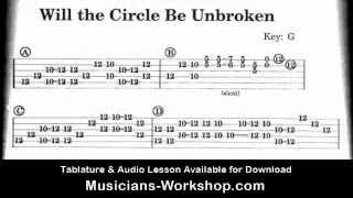Will the Circle Be Unbroken Dobro Lesson
