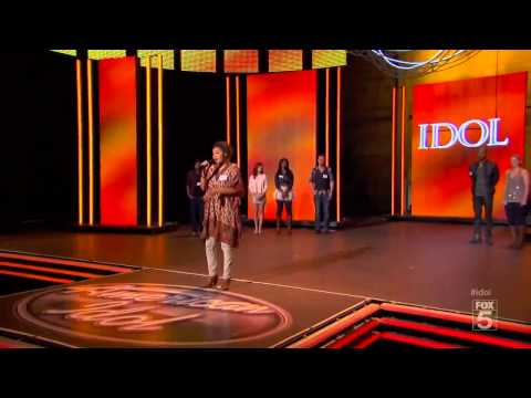 AMERICAN IDOL 2012 AUDITIONS HD: Symone Black Falls Off Stage [TALENTFAIL.COM]