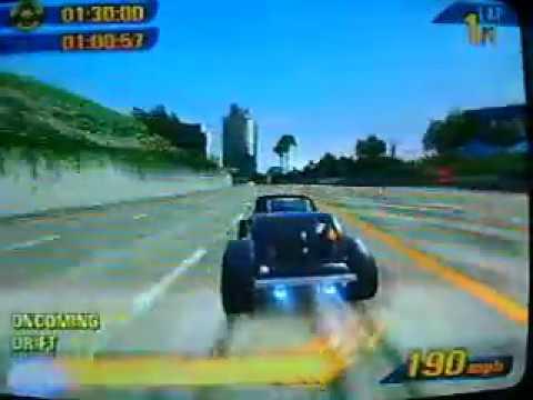 Burnout 3: Classic Hot Rod Burning Lap (Waterfront) (Silver, 1:37:96)