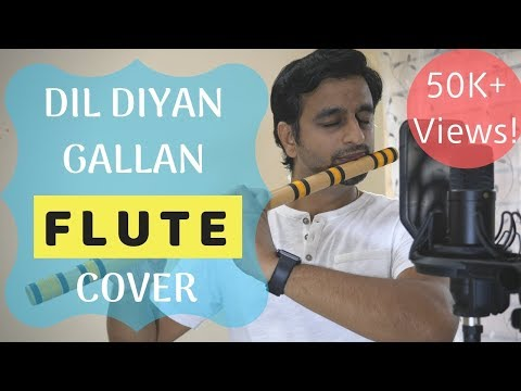 Heart Touching Flute Cover - Dil Diyan Gallan | Tiger Zinda Hai - By Sriharsha Ramkumar
