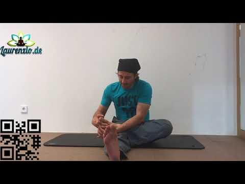 Laurenzio Yoga Frankfurt - Business Yoga Therapie Übungen für die Zehen und Fussgelenke. Neu/deutsch