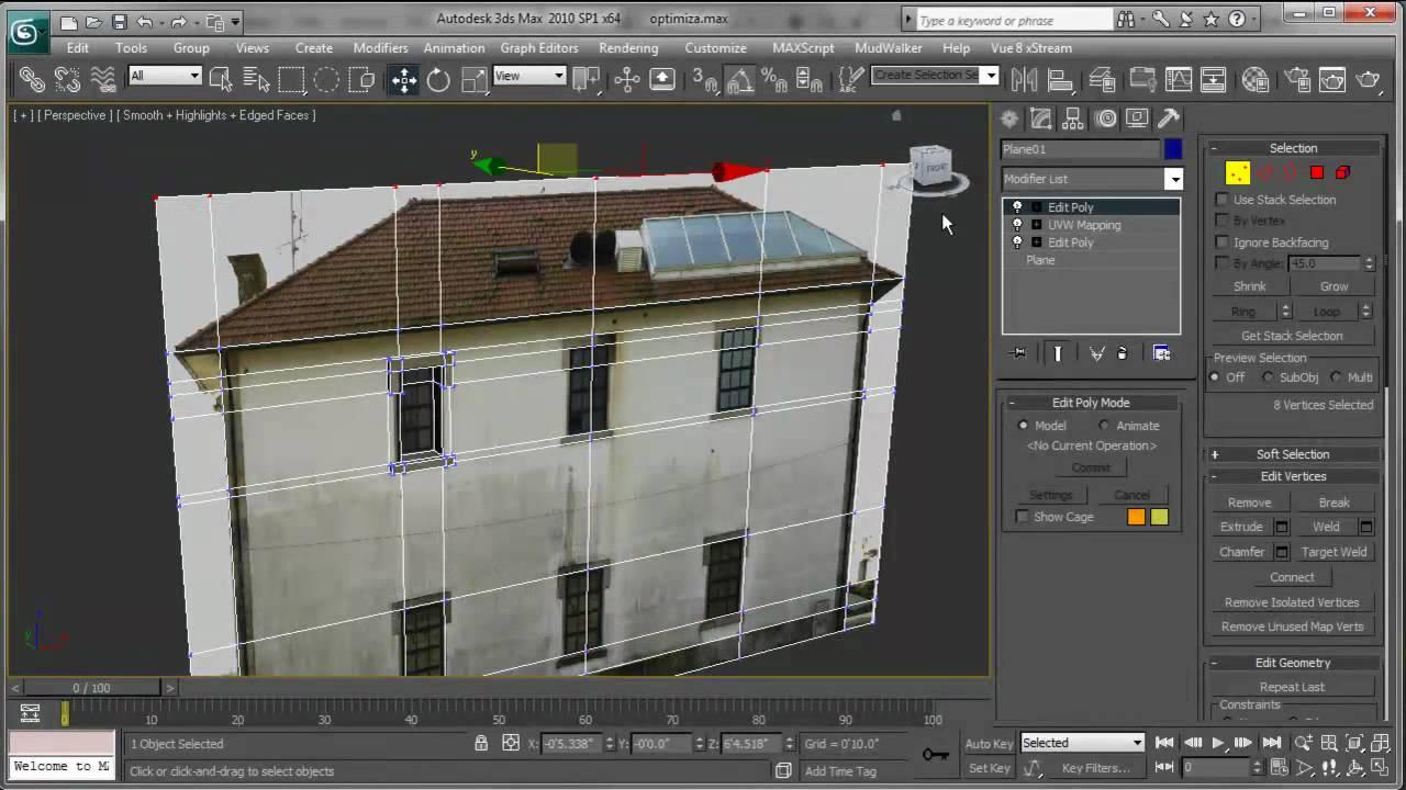 Modelar una casa usando texturas en 3d max youtube for Software per arredare casa 3d