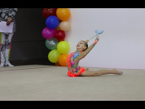 Rhythmic Gymnastics Florida State Meet - Level 5, Clubs (Miami, FL)
