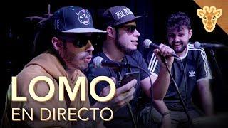 LOMO EN DIRECTO: David Sainz y Pablo Nicasso (AKA Lomogoldo & Cañaelomo) | Jirafas | Playz